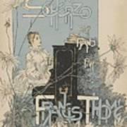 Sheet Music Scherzo Pour Piano Art Print