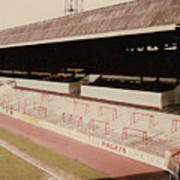 Sheffield United - Bramall Lane - John Street Stand 2 - 1970s Art Print