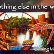 Sheikra Poster Add One Art Print