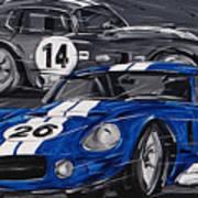 Shelby Daytona Art Print