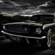 Shelby Gt350h Rent-a-racer Art Print