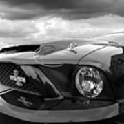 Shelby Super Snake Mustang Grille And Headlight Art Print