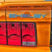 Shelby Tail Light Art Print