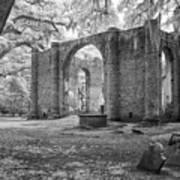 Sheldon Church Ruins Art Print