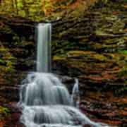 Sheldon Reynolds Falls Art Print