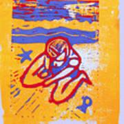Shellie - Summer Experiment Art Print by Adam Kissel