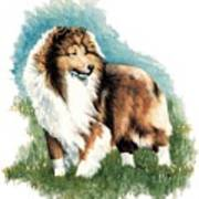 Sheltie Watch Art Print