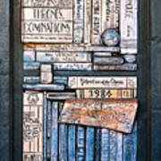 Shelved - 5 Art Print