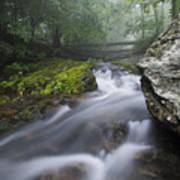 Shenandoah Mountain Stream Art Print
