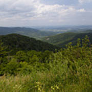 Shenandoah National Park - Skyline Drive Art Print