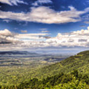 Shenandoah National Park - Sky And Clouds Art Print