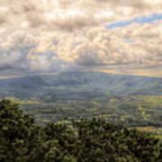 Shenandoah Valley - Storm Rolling In Art Print
