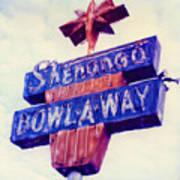 Shenango Bowl-a-way Art Print