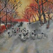 Shepherd's Delight Art Print