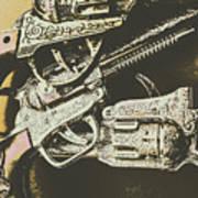 Sheriff Guns Art Print