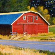 Sherman Barn Art Print