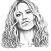Sheryl Crow Art Print