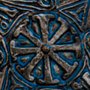 Shield Of Time Art Print