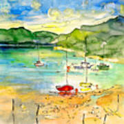 Shieldaig In Scotland 03 Art Print