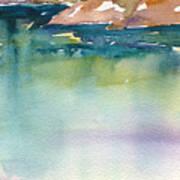 Shimmer Lake Art Print