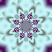 Shimmering Snowflake Art Print
