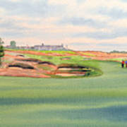 Shinnecock Hills Golf Course Art Print by Bill Holkham
