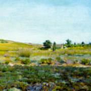 Shinnecock Hills, Summer - William Merritt Chase Art Print