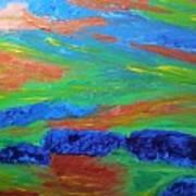 Shinning Sea Art Print