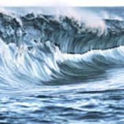 Shiny Wave Art Print