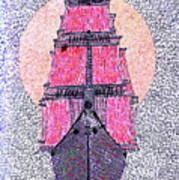 Ship In Sun Art Print