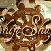 Ship Shape 1908 Art Print