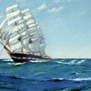 Ship Waimate Art Print