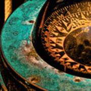 Ship's Compass Art Print