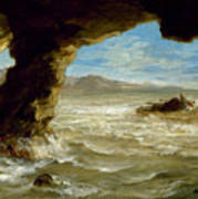 Shipwreck On The Coast  Art Print