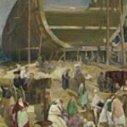 Shipyard Society Art Print