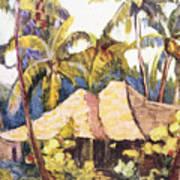 Shirley Russell Art Art Print
