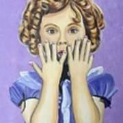 Shirley Temple Art Print
