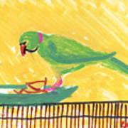 Shirley's Bird Art Print