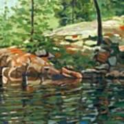 Shoal Lake - Granite Shore Art Print