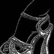 Shoe In Art Print