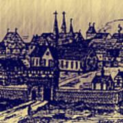 Shoenou Monastary Germany Art Print
