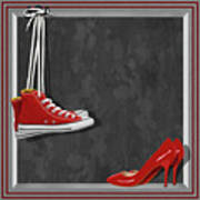 Shoes For Every Occasion Art Print