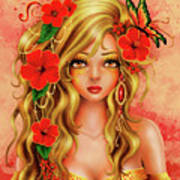 Shona Art Print