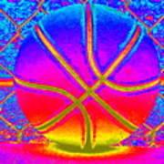 Shooting Hoops Art Print
