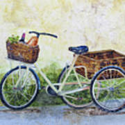 Shopping Day In Lucca Italy Art Print