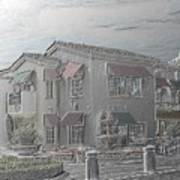 Shopping Mall Laguna Hills Art Print