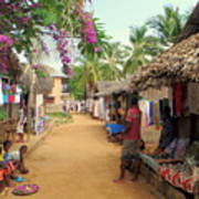 Shops In Madagascar Art Print