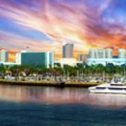 Shoreline Long Beach Ca 09 Art Print