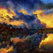 Shoreline Sunrise Art Print