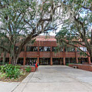 Shores Building At Florida State University Art Print
